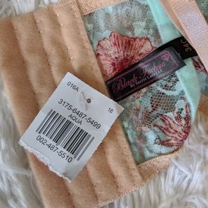 Secret Lace LLC Intimates & Sleepwear - 🆕 Floral Black Fuchsia Corset Bra